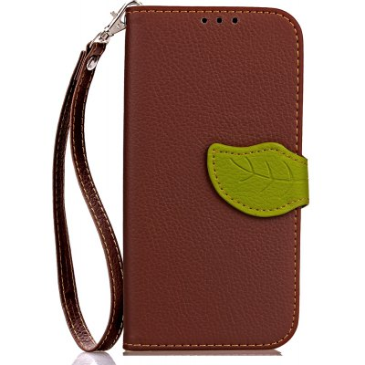 Love Leaf Card Lanyard Pu Leather para Redmi 4X