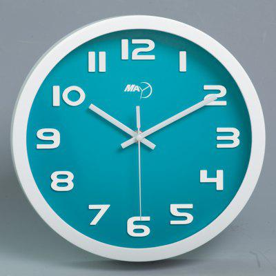 May Time Modern Round Clock Wall
