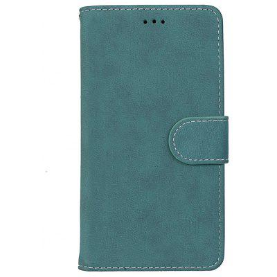 Wkae Grind Arenaceous PU Leather Flip Stand Case with Wallet and Three Card Slots for MOTO G5 Plus