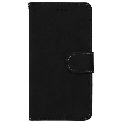 Wkae Grind Arenaceous PU Leather Flip Stand Case com Carteira e Three Card Slots para Samsung A5 2017