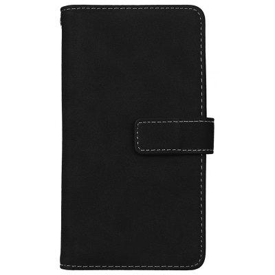 Wkae Grind Arenaceous PU Leather Flip Stand Case with Wallet and Nine Card Slots for LG G3