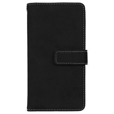 Wkae Grind Arenaceous PU Leather Flip Stand Case with Wallet and Nine Card Slots for LG G5