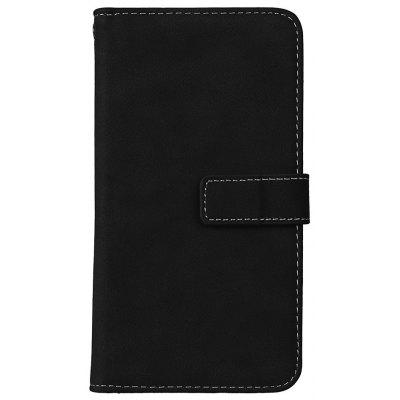 Wkae Grind Arenaceous PU Leather Flip Stand Case with Wallet and Nine Card Slots for LG K10 2017 LV5