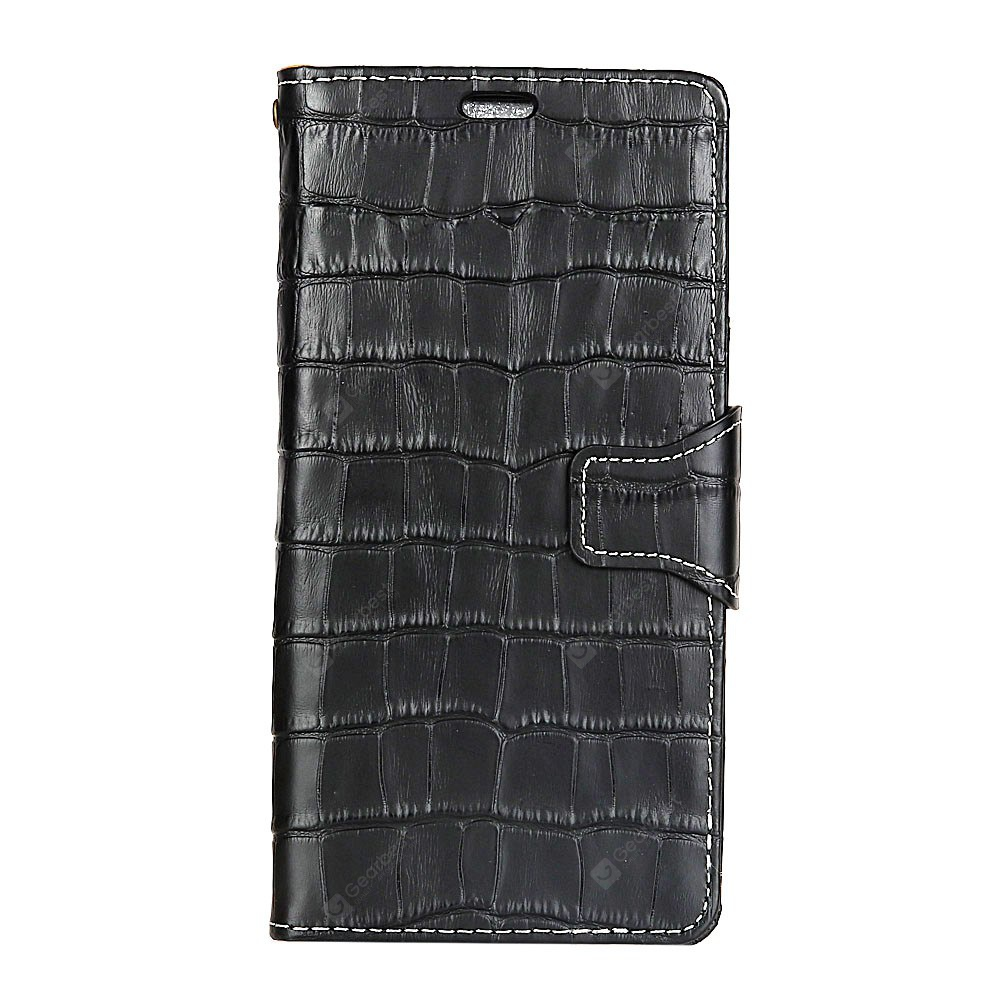 KaZiNe Crocodile Skin luxury Genuine Leather Wallet Case for HuaWei Honor 9
