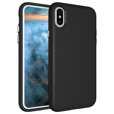 Shockproof Non-slip Phone Case for iPhone X Dual Layer Sturdy PC TPU Durable Hard Case Impat Shock-Defender Rubber Cover