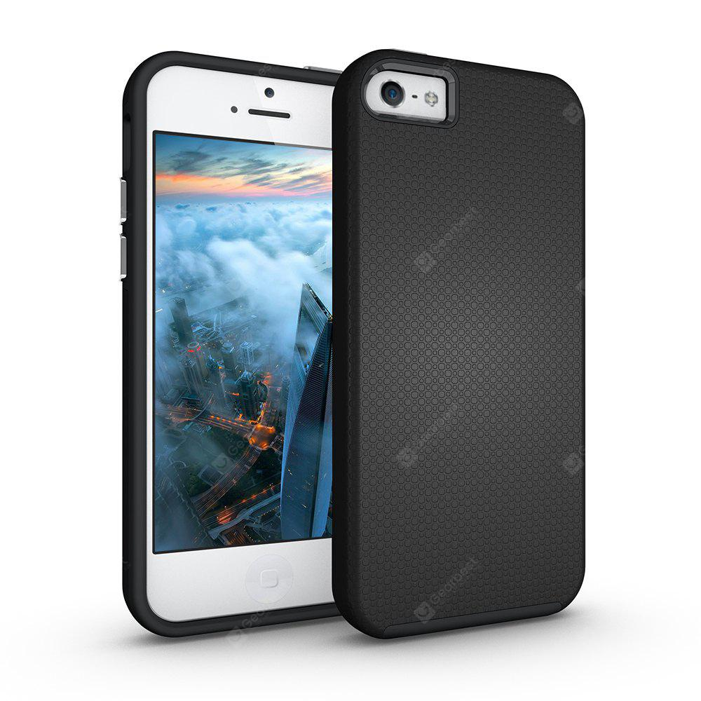 Shockproof Non-slip Dual Layer Sturdy PC TPU Durable Hard Case Impat Shock-Defender Rubber Cover for iPhone 6 / 6S