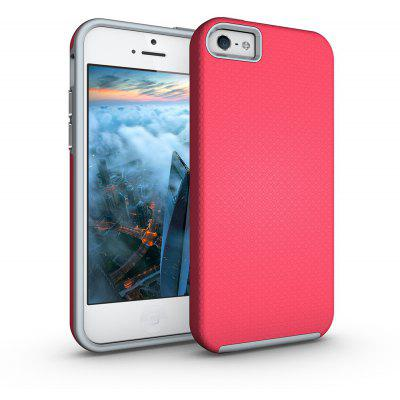 Shockproof Non-slip Dual Layer Sturdy PC TPU Durable Hard Case Impat Shock-Defender Rubber Cover for iPhone 6 Plus / 6S Plus