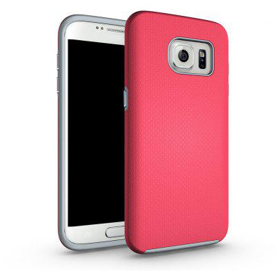 A prova de choque antiderrapante Dual Layer Sturdy PC TPU Durable Hard Case Impat Shock-Defender Tampa de borracha para Samsung Galaxy S7 Edge