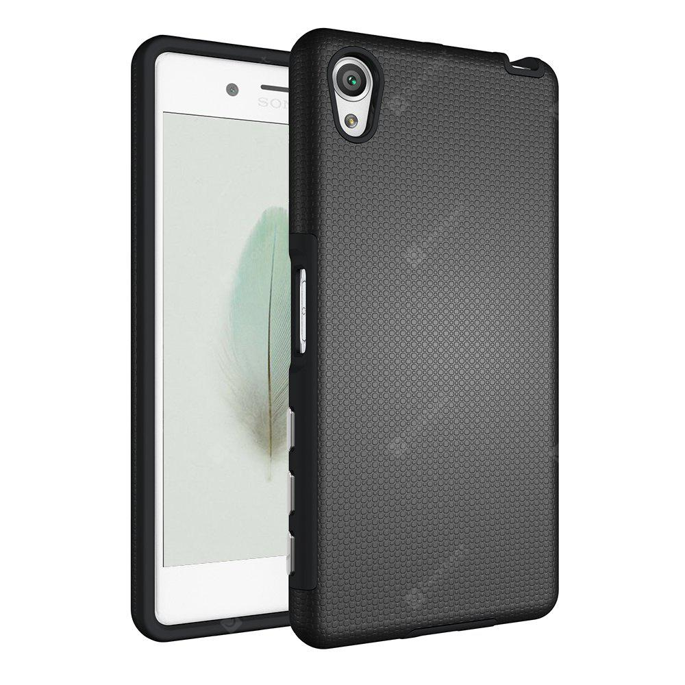 Shockproof Non-slip Dual Layer Sturdy PC TPU Durable Hard Case Impat Shock-Defender Rubber Cover for Sony Xperia X
