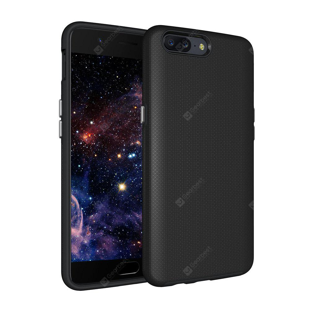 Shockproof Non-slip Dual Layer Sturdy PC TPU Durable Hard Case Impat Shock-Defender Rubber Cover for OnePlus 5