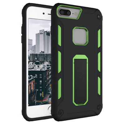 Hybrid Dual Layer Rugged Shockproof Drop Proof Hard Back Cover Kickstand Protective Case for iPhone 6 Plus / 6S Plus / 7 Plus
