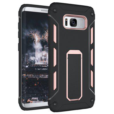 Buy PINK Hybrid Dual Layer Rugged Shockproof Drop Proof Hard Back Cover Kickstand Protective Case for Samsung Galaxy S8 Plus for $4.12 in GearBest store