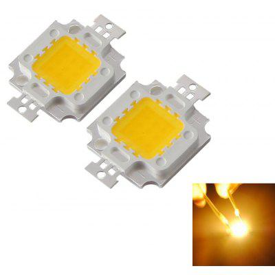 YouOKLight 2PCS DIY 10W 9 - 12V Cool White / Warm White Light Integrated LED Module