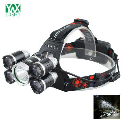 YWXLight LED Headlamp Waterproof switch for Camping Travel Walking