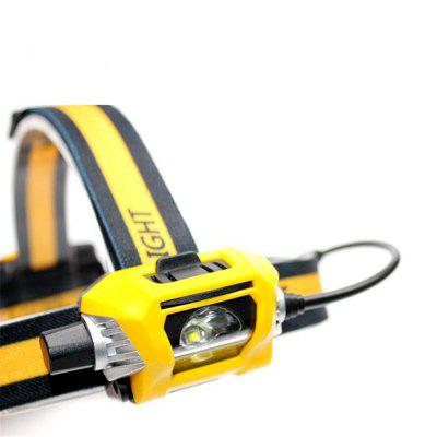 UltraFire B4 SST-40-CW-A120 300 lumens 60 ° Adjustable multifunctional dimmer headlight white lightHeadlights<br>UltraFire B4 SST-40-CW-A120 300 lumens 60 ° Adjustable multifunctional dimmer headlight white light<br><br>Adjustable Focus: Yes<br>Available Light Color: White<br>Battery Included or Not: No<br>Battery Type: AA<br>Beam Angle: 60 degrees<br>Beam Distance: 50-100m<br>Body Material: ABS<br>Color: Yellow<br>Color Temperature: 6500K<br>Emitters Quantity: 1<br>Feature: Headlamp, Dustproof, Dynamic cycle infinitely variable diming<br>Function: Hunting, EDC, Seeking Survival, Household Use, Exploring, Night Riding, Walking, Mining<br>Headlight Brand: Ultrafire<br>Luminous Flux: 300 lumens<br>Main Emitters: Other<br>Mode: Stepless Dimming<br>Model: B4<br>Package Contents: 1 x B4 headlights<br>Package size (L x W x H): 13.50 x 6.30 x 7.40 cm / 5.31 x 2.48 x 2.91 inches<br>Package weight: 0.1830 kg<br>Power Source: Battery<br>Product weight: 0.1580 kg<br>Switch Location: Head<br>Switch Type: Rotary Switch<br>Type: LED Headlamp, Headlamp Flashlight<br>Waterproof: IPX-6 Standard Waterproof