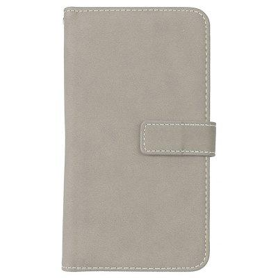 Wkae Grind Arenaceous PU Leather Flip Stand Case com Carteira e Nine Card Slots para LG Stylus 2 Plus