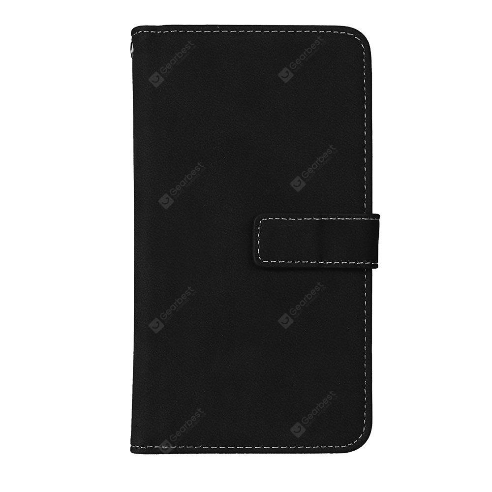 Wkae Grind Arenaceous PU Leather Flip Stand Case com Carteira e Nine Card Slots para LG STYLUS 3