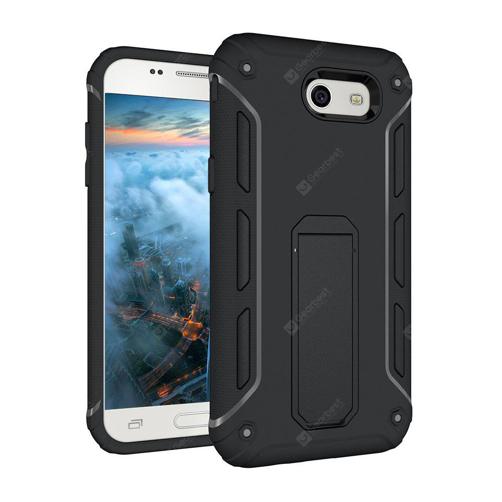 Hybrid Dual Layer Rugged Shockproof Drop Proof Hard Back Cover Kickstand caso protetor para Samsung Galaxy J3 2017