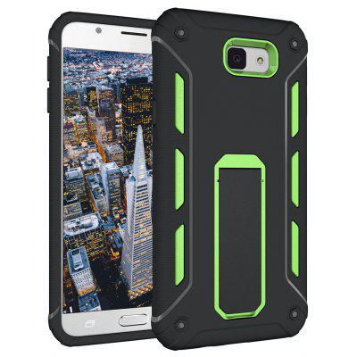 Hybrid Dual Layer Rugged antichoc antidouleur Hard Back Cover Housse de protection Kickstand pour Samsung Galaxy On 5 2016