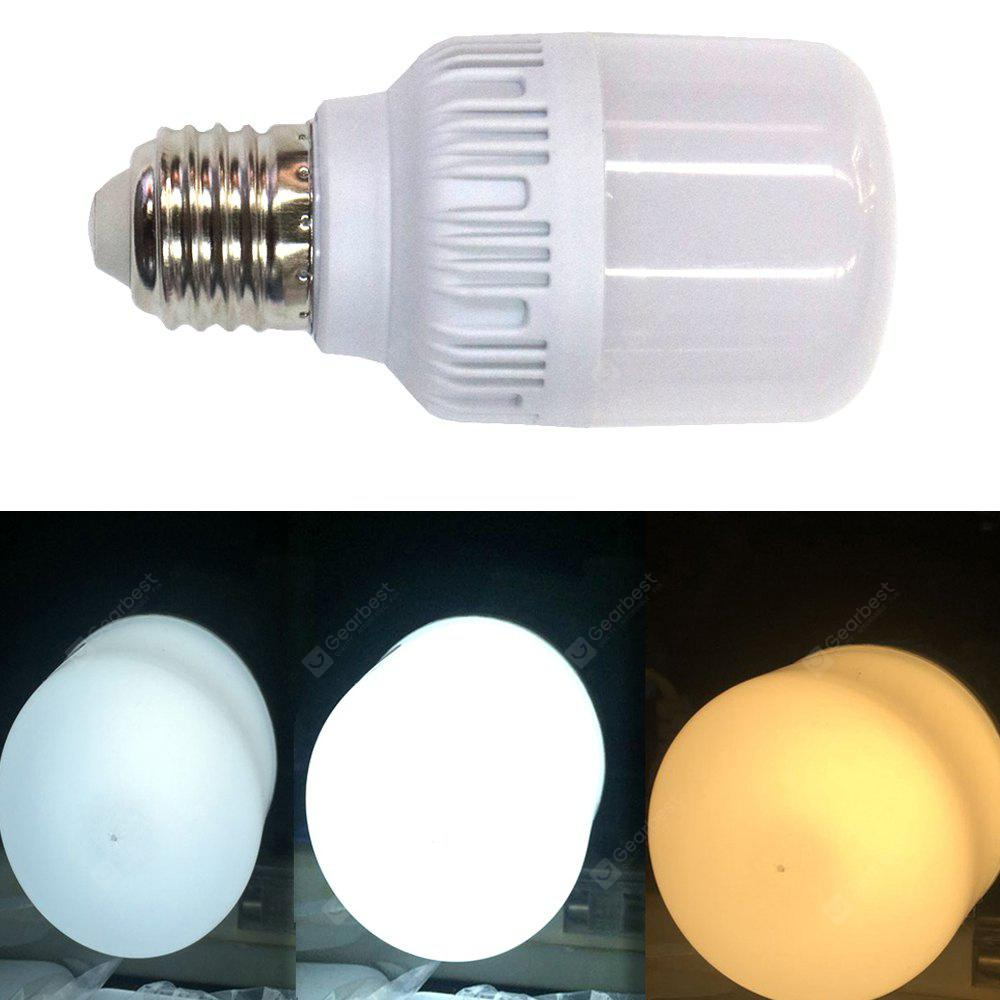 The New E27 2835SMD 38LED 18W 1422LM Three-color Dimming LED Bulb