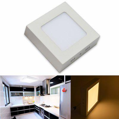LED Panel Light 6W Surface Mounted LED Ceiling Lights AC 85 - 265V  Square LED Downlight