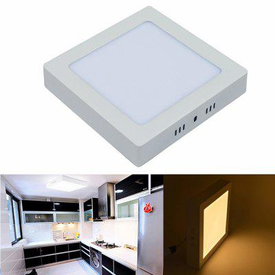 LED Panel Light 12W Surface Mounted LED Ceiling Lights AC 85 - 265V  Square LED Downlight