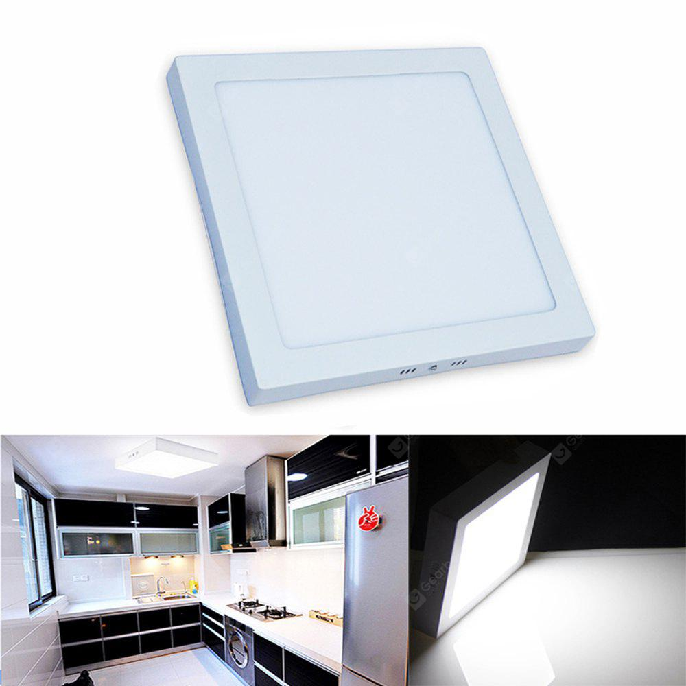 LED Panel Light 24W Surface Mounted LED Ceiling Lights AC 85 - 265V Square LED Downlight