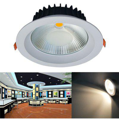 JIAWEN 20W Dimmable Warm White / Cool White COB LED Downlight AC 85 - 265V