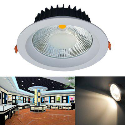 JIAWEN 20W Dimmable Blanc chaud / Cool White COB LED Downlight AC 85 - 265V