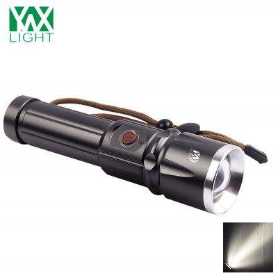 YWXLight Waterproof Zoomable LED Flashlight Torch Tactical Outdoor Camping