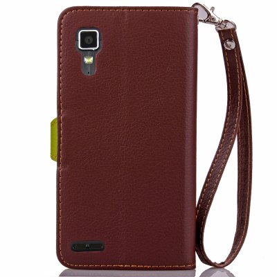 Love Leaf Card Lanyard Pu Leather for lenovo P780 velcro business card lanyard pu leather for huawei honor 8 pro