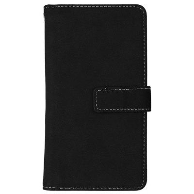 Wkae Grind Arenaceous PU Leather Flip Stand Case com Carteira e Nine Card Slots para HUAWEI P9