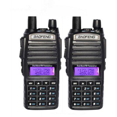 BAOFENG 2pcs UV-82 Radio Dual Band Radio Walkie Talkie Transceiver