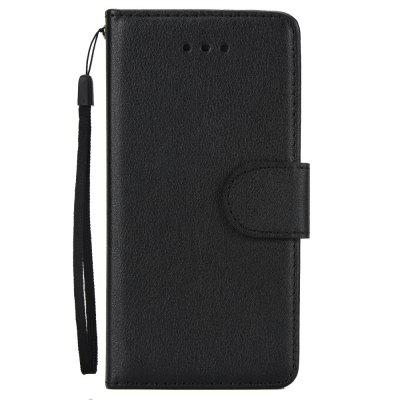 Leather Flip Folio Book Case Wallet Cover with Kickstand Feature Card Slots ID Holder Magnetic Closure for iPhone 5 / 5S / SE solid color litchi pattern wallet style front buckle flip pu leather case with card slots for doogee x10