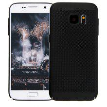 Fashion Ultra-Thin Breathable Cooling Mesh Hard Phone Cover for Samsung Galaxy S7