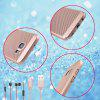 Fashion Ultra-Thin Breathable Cooling Mesh Hard Phone Cover for Samsung Galaxy S7 - ROSE GOLD