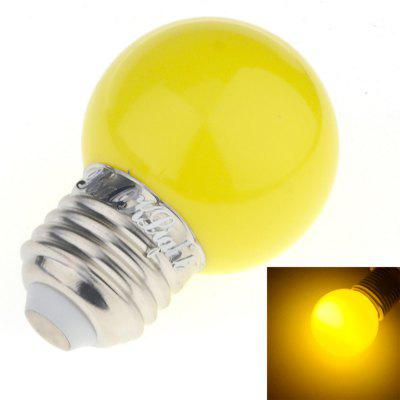 YouOKLight 1PCS E27 3W F5 DIP 6-LED Red / Blue / Yellow Light Lamp Bulb AC 220V