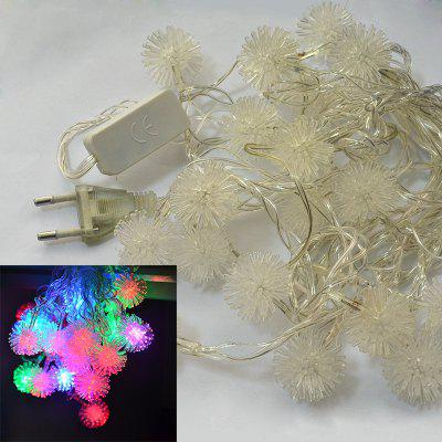 YouOKLight 4W 4M 20LEDs RGB LED Snowball String Lights Christmas String Light for Decoration AC 110 - 220V