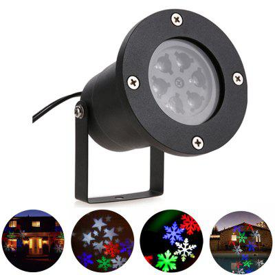 YouOKLight YK2281 1PCS 12W Holiday Decoration Waterproof Outdoor LED Stage Lights RGBW Christmas Laser Snowflake Projector Lamp AC 100 - 240VStage Lighting<br>YouOKLight YK2281 1PCS 12W Holiday Decoration Waterproof Outdoor LED Stage Lights RGBW Christmas Laser Snowflake Projector Lamp AC 100 - 240V<br><br>Body Color: Black<br>Control Mode: Auto Mode<br>Function: For Decoration, For party<br>Laser Color: RGB Light<br>Material: Metal<br>Package Contents: 1 x Projector Lamp, 1 x Power, 1 x Bracke, 1 x Screw package Accessory, 1 x Stake, 1 x User Manual<br>Package size (L x W x H): 18.00 x 10.80 x 10.80 cm / 7.09 x 4.25 x 4.25 inches<br>Package weight: 0.5290 kg<br>Plug Type: EU plug<br>Product Size(L x W x H): 9.90 x 9.00 x 9.00 cm / 3.9 x 3.54 x 3.54 inches<br>Product weight: 0.4630 kg<br>Shape: Ball Light<br>Total Emitters: 4<br>Type: LED Effects Stage Light, Projector Lamp, DJ and Disco Light, RGB Stage Light<br>Voltage Type: AC 100-240V<br>Wavelength Range / CCT: 620-625nm;520-525nm;460-465nm
