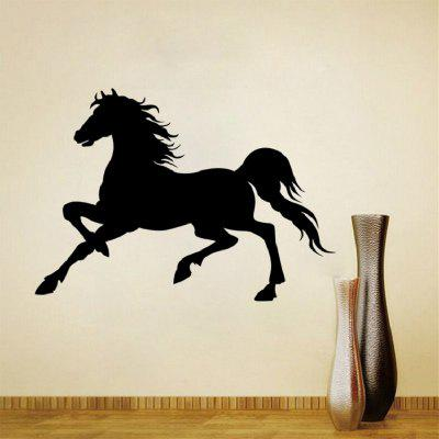 Animale che funziona cavallo pallido decalcomanie arte decalcomania murale decal Sticker