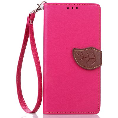 Buy ROSE RED Love Leaf Card Lanyard Pu Leather for Lenovo P70 for $5.93 in GearBest store