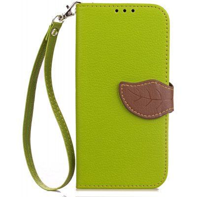 Buy GREEN Love Leaf Card Lanyard Pu Leather for Lenovo P2 for $4.81 in GearBest store
