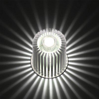 LedTey 3W Positive White Sunflower Wall Lamp Creative Aluminum Wall Lamp
