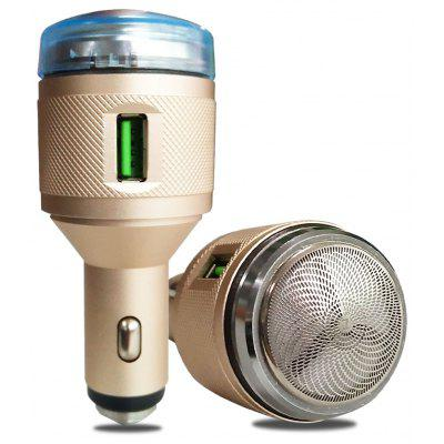 QC3.0 Multi-function Razor Safety Hammer USB Car Charger