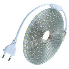 1PCS 10M 220V 5050LED Flexible Tape Rope Strip Light Xmas Outdoor Waterproof Garden Outdoor Lighting EU Plug