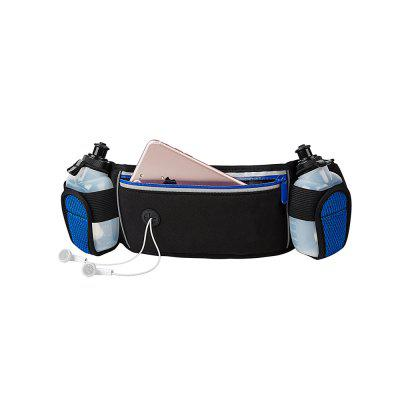 Hydration neoprene running belt with 2 bottlesWaistpacks<br>Hydration neoprene running belt with 2 bottles<br><br>Capacity: 1 - 10L<br>Package Contents: 1x running belt  ,  2x bottle<br>Package size (L x W x H): 40.00 x 20.00 x 5.00 cm / 15.75 x 7.87 x 1.97 inches<br>Package weight: 0.3000 kg<br>Product weight: 0.2000 kg