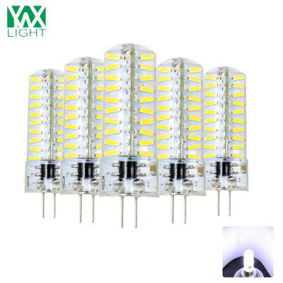YWXLight Lustre en Silicone G4 4014 80LED Cristal Transparent AC 200 - 240V 5PCS