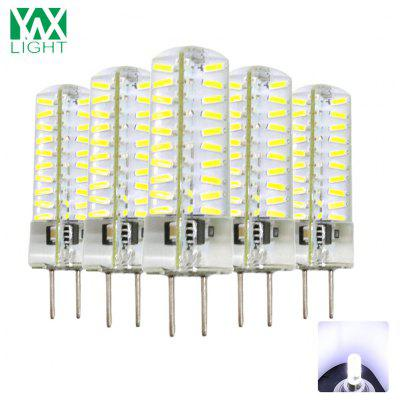 5 Pezzi YWXLight GY6.35 LED Luce in Silicone Trasparente AC 100 - 130V