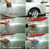 2Pcs Car Scratches Repair Paint Pen - Red - RED