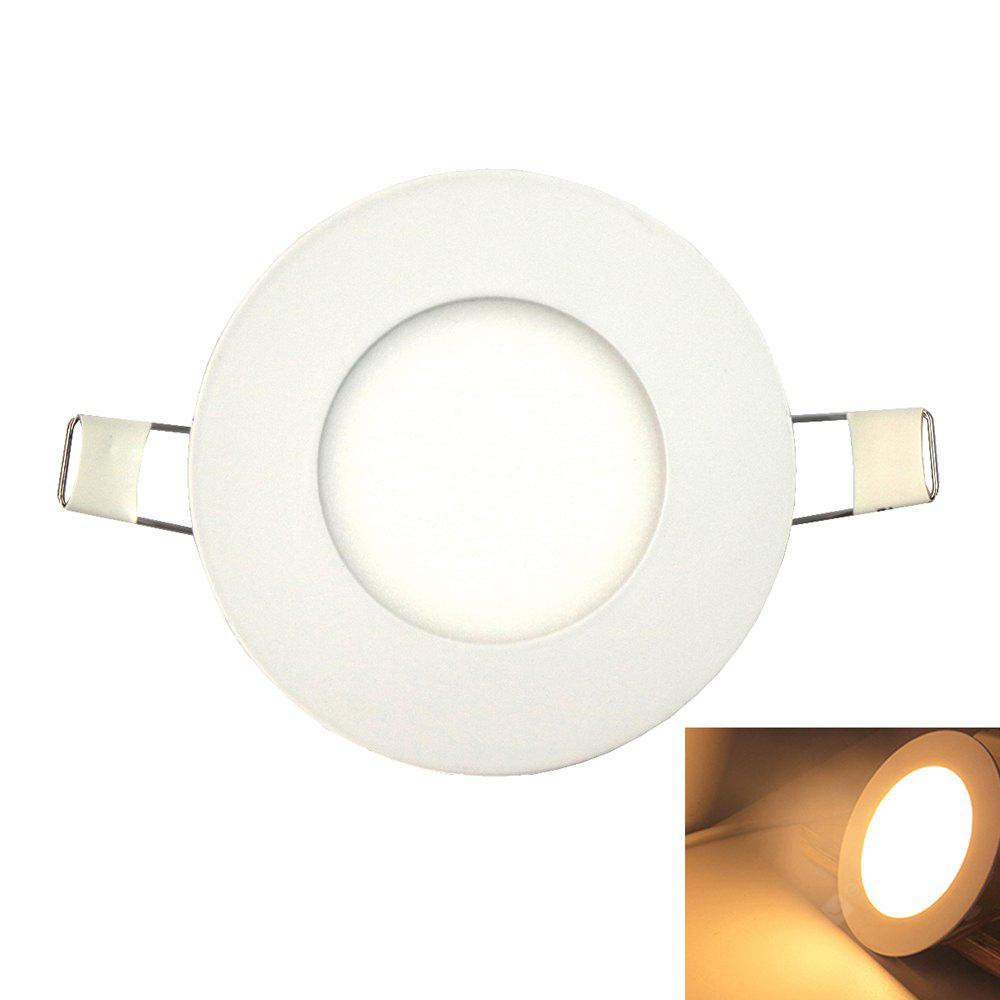Ultra-thin 3W 250LM 15-2835SMD LED Panel Light / Embedded Ceiling Light